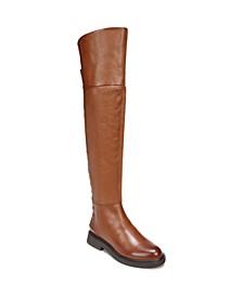 Battina Wide Calf High Shaft Boots