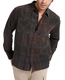 Men's Lincoln Plaid Corduroy Shirt