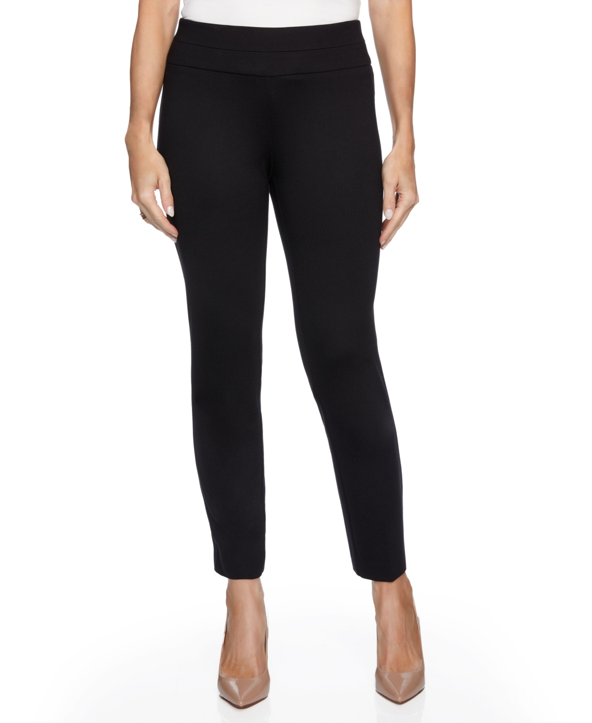 Women's Slim Ponte with Wide Waistband Pants
