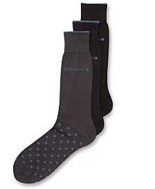 Perry Ellis Men's Everyday Value 3-Pk. Microluxe Dot Socks