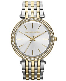 Women's Darci Two-Tone Stainless Steel Bracelet Watch 39mm MK3215