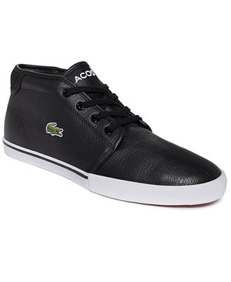 Mens Lacoste Ampthill Lcr Casual Shoes