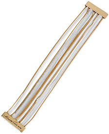 Kenneth Cole New York Two-Tone Multi-Chain Magnetic Bracelet