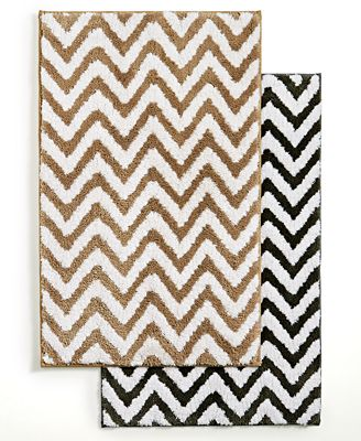 Hotel Collection Chevron Bath Rug Created For Macy S