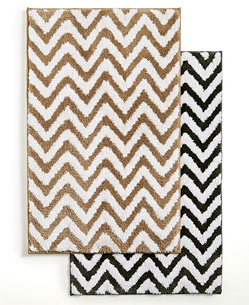 Closeout Chevron Bath Rug Collection