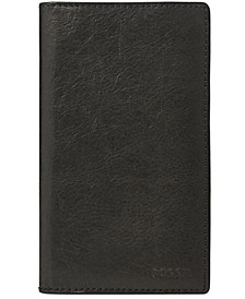 Ingram Executive Checkbook Leather Wallet