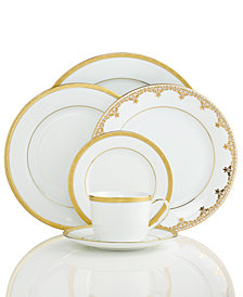 "Charter Club ""Grand Buffet Gold"" Dinnerware Collection, Created for Macy's"