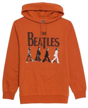 Men's the Beatles Hooded Fleece Sweatshirt