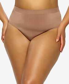Plus Size Body Smooth Seamless Brief Panty
