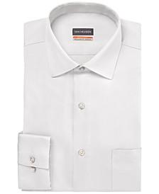 Men's Big & Tall Classic/Regular-Fit Stain Shield Solid Dress Shirt