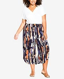 Plus Size Anika Split Pants