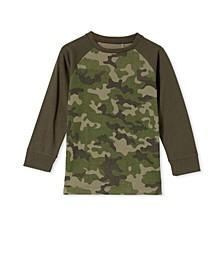 Toddler Boys Tom Raglan T-shirt