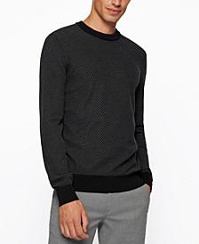 BOSS Men's Jacquard-Knit Sweater