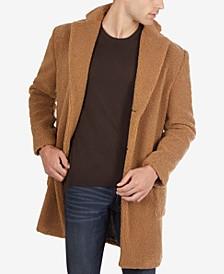 Men's Sherpa Camel Overcoat