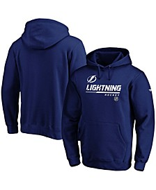 Men's Blue Tampa Bay Lightning Authentic Pro Core Collection Prime Pullover Hoodie