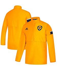 Men's Gold-Tone Nashville Predators Game Mode Quarter-Zip Pullover Jacket