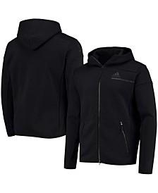 Men's Black Pittsburgh Penguins Color Block Full-Zip Jacket