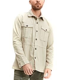 Men's Modern Relaxed Casual Button-Down Shirt