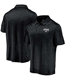 Men's Black Tampa Bay Lightning 2021 Stanley Cup Champions Explosive Encounter Polo Shirt