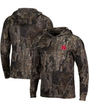 Men's Realtree Camo Nebraska Huskers Long Sleeve Hoodie T-shirt