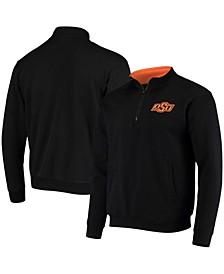 Men's Black Oklahoma State Cowboys Tortugas Logo Quarter-Zip Jacket