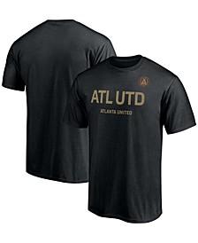 Men's Black Atlanta United FC Dynamite Debut T-shirt