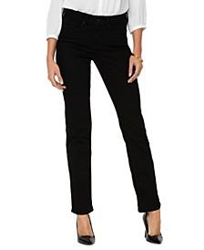 Marilyn Tummy-Control Straight-Leg Jeans