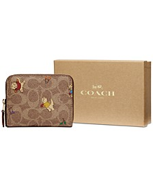 Boxed Small Zip Around Wallet