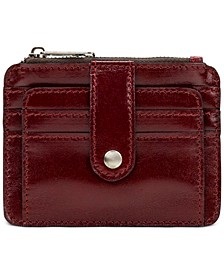 Cassis Leather Card Case