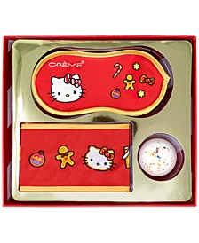 x Hello Kitty 3-Pc. Hello Holidays! Spa Set