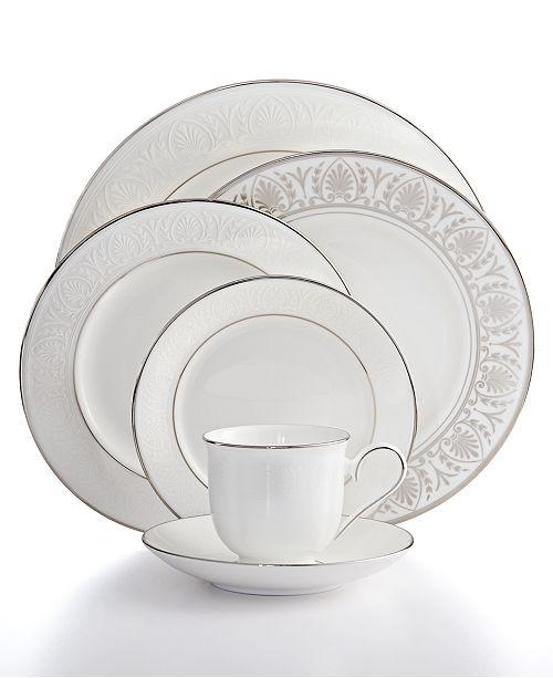 Lenox Hannah Platinum Collection - Fine China - Macy\'s