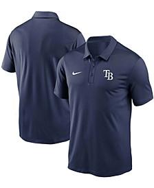 Men's Navy Tampa Bay Rays Team Logo Franchise Performance Polo Shirt