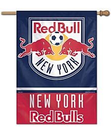Multi New York Red Bulls 28'' x 40'' One-Sided Vertical Banner