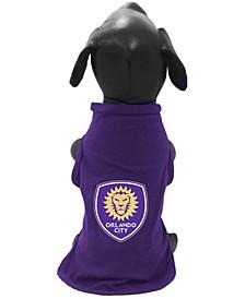 Purple Orlando City SC Pet T-shirt