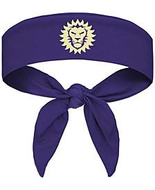Purple Orlando City SC Tie-Back Headband
