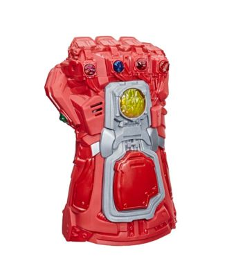 Marvel Avengers: Endgame Red Infinity Gauntlet Electronic Fist Roleplay
