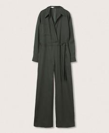 Women's Long Lyocell Jumpsuit