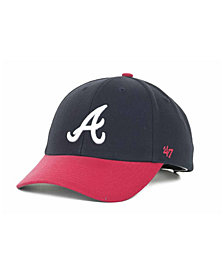 '47 Brand Atlanta Braves MLB On Field Replica MVP Cap