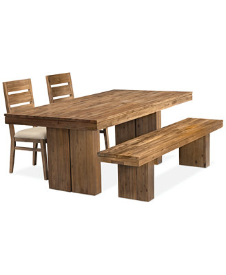 Champagne 4 Piece Dining Room Furniture Set ly at Macy