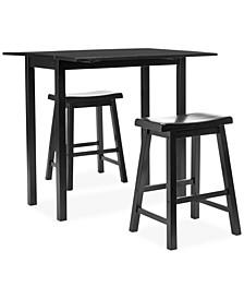 Ardon 3-Piece Pub Table Set