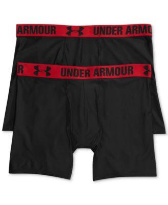 Under Armour Mens HeatGear 6 BoxerJock 2-Pack