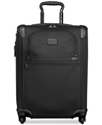 """Alpha 2 22"""" Continental Carry On Expandable Spinner Suitcase"""