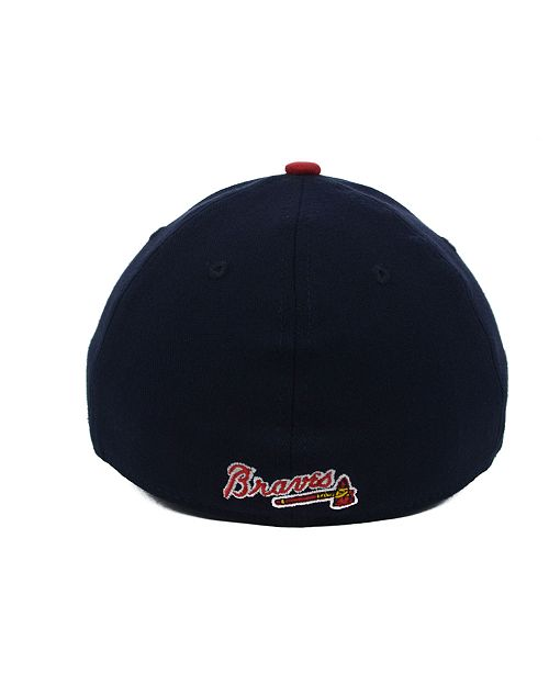 finest selection 07af3 bcca7 New Era Atlanta Braves Team Classic 39THIRTY Kids  Cap or Toddlers  ...