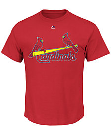 Majestic Men's St. Louis Cardinals Team Wordmark T-Shirt