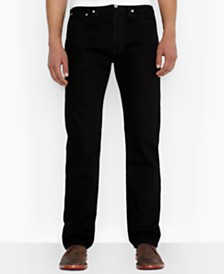 Levi's Big and Tall 505 Regular-Fit Black Jeans
