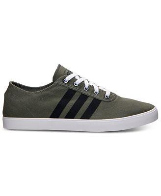 adidas uomini neo - facile, te della scarpa verde scuro nero traguardo