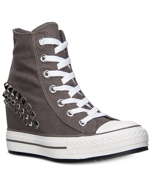 001169a1b0e5e9 ... Converse Women s Chuck Taylor All Star Platform Plus Hi Casual Sneakers  from Finish ...