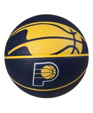 Spalding Indiana Pacers Size 7 Courtside Basketball thumbnail