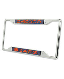 Stockdale Chicago Bears Glitter License Plate Frame