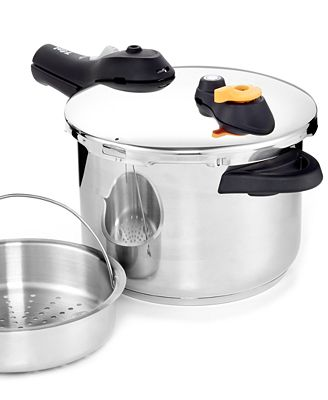 T-Fal Stainless Steel 6.3-Qt. Pressure Cooker